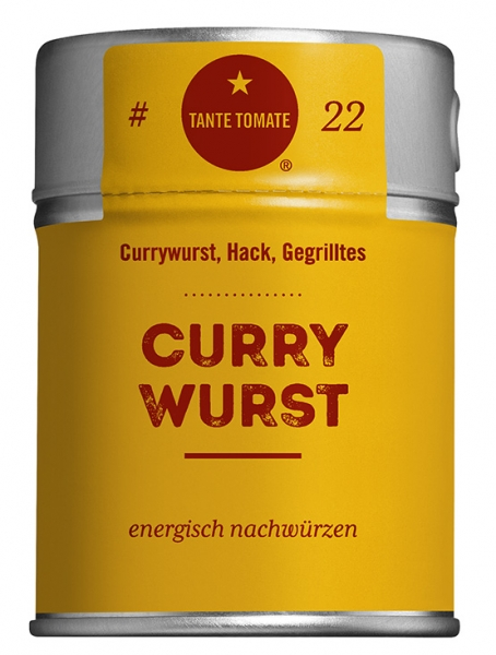#22 Curry Wurst